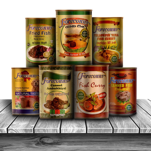 Fish Based Products in Cans