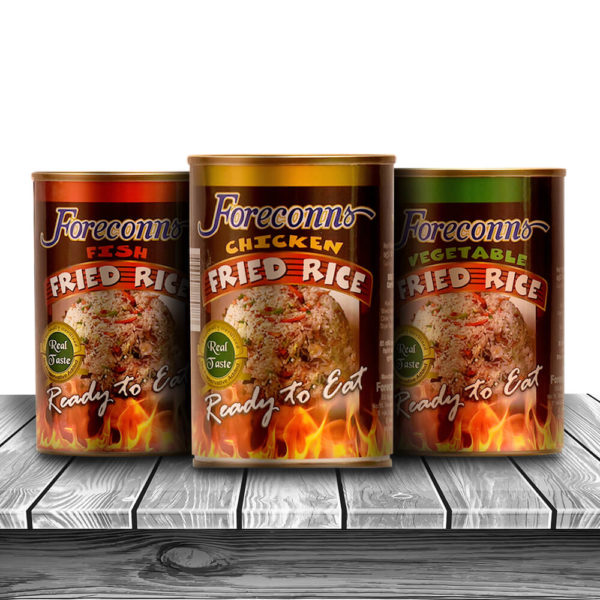 Fried Rice in Cans